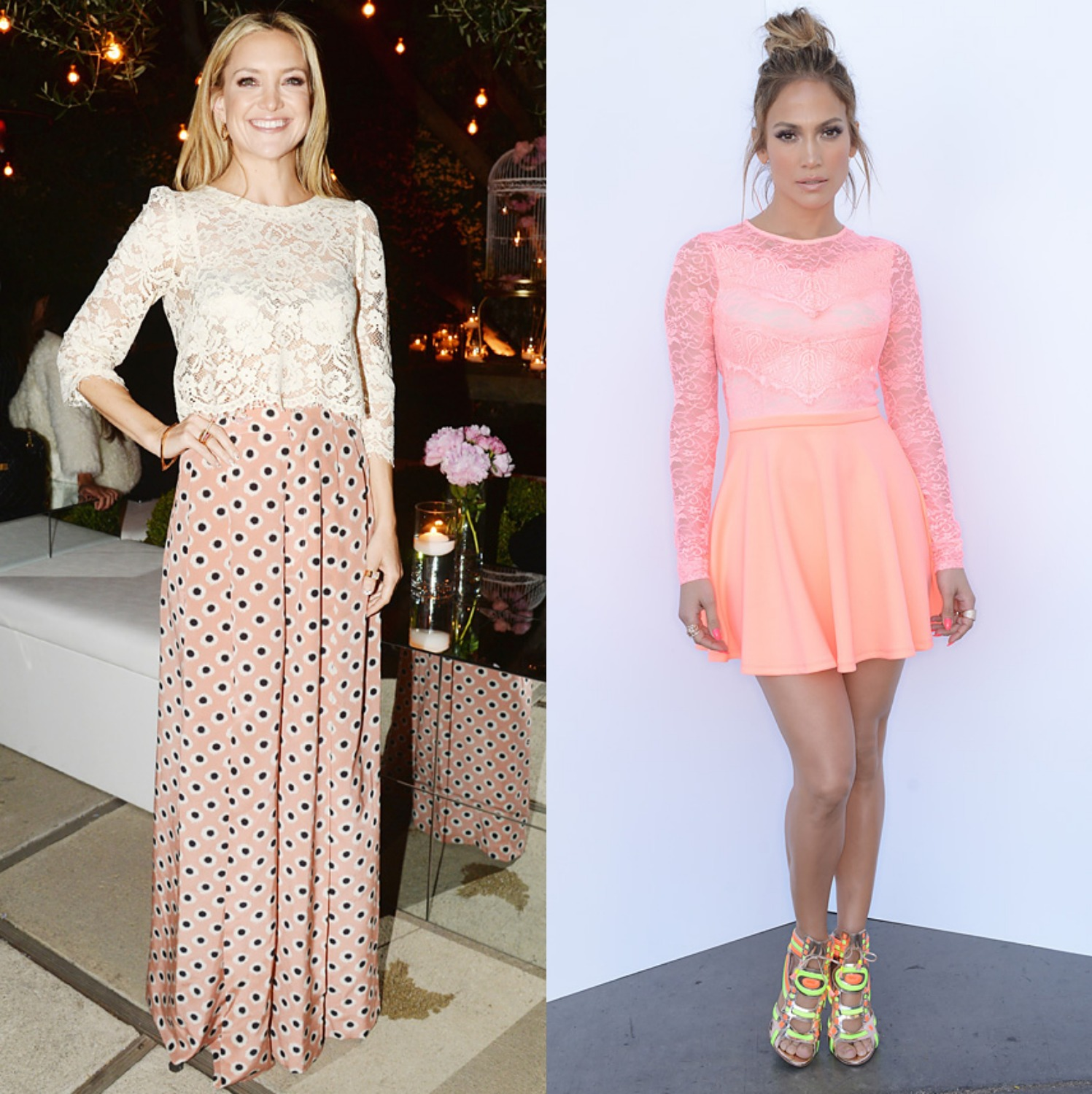 Celebrity Fashion Kate Hudson And Jennifer Lopez Bella