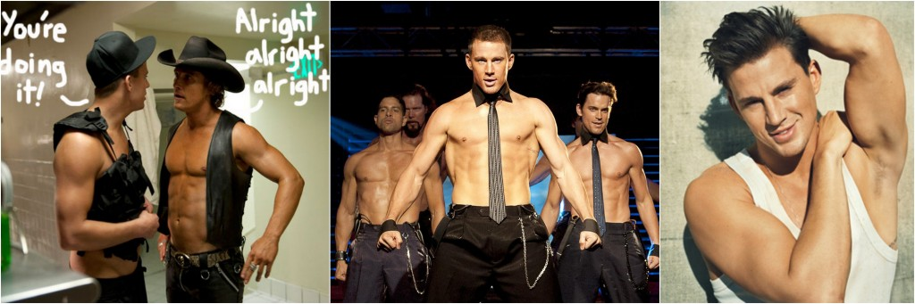 Channing Tatum Shirtless Magic Mike