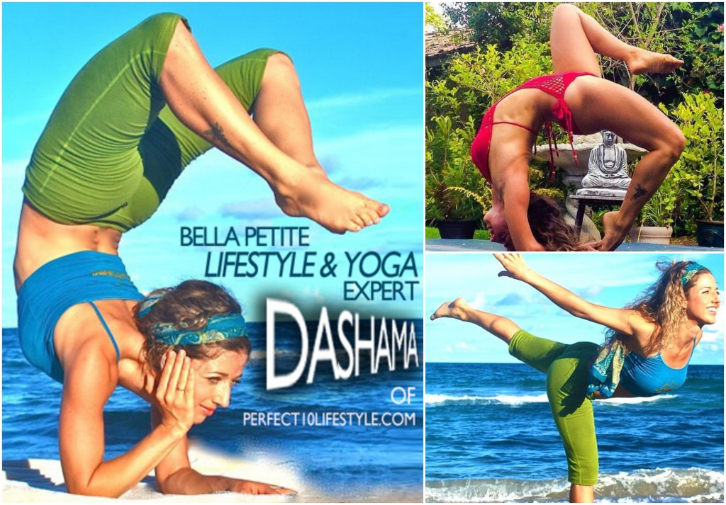 Yoga Coach Dashama Gordon and Bella Petite Fitness Expert
