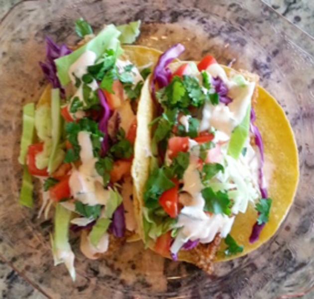 Bella Petite Recipes Fish Tacos