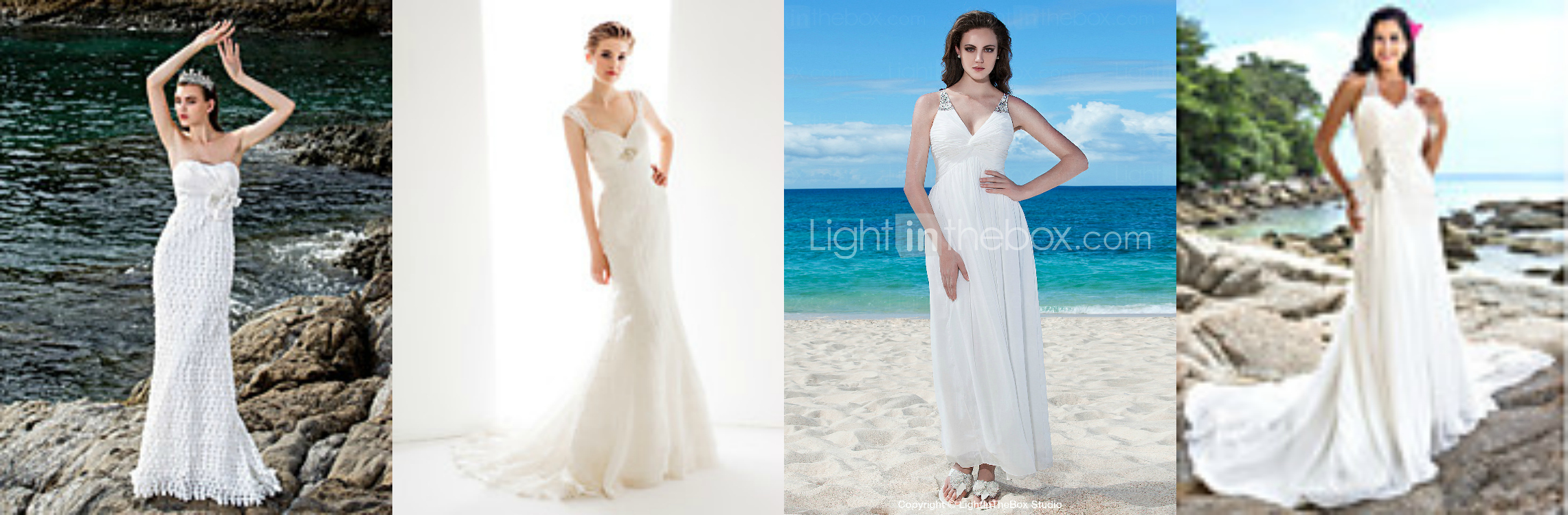 wedding dress styles for short women | Wedding