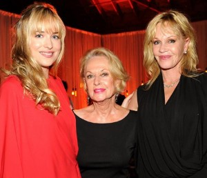 Bella Petite Celebrities: Dakota Johnson, Tippi Hedren and Melanie Griffith