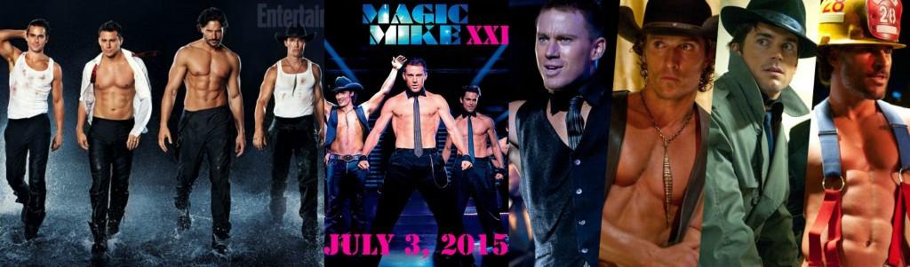 Bella Petite Magazine Magic Mike XXL Channing Tatum and Matthew Mcconaughey