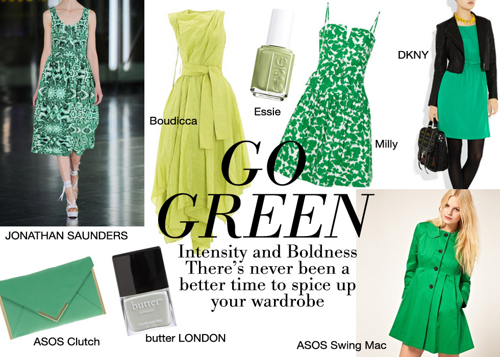 Green 2015 Fall Color Trend