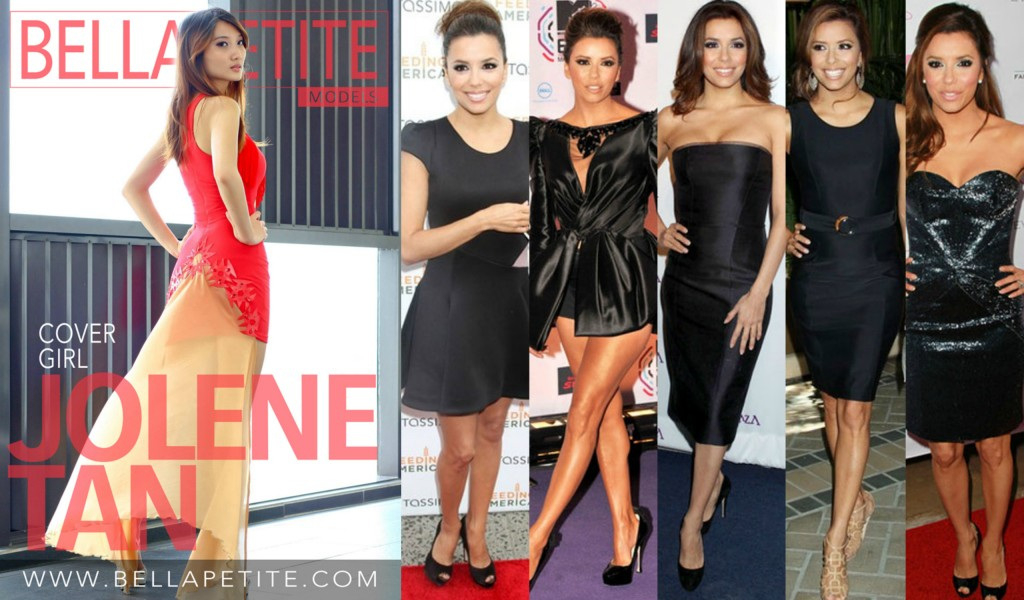 Eva Longoria Little Black Dress Bella Petite Magazine