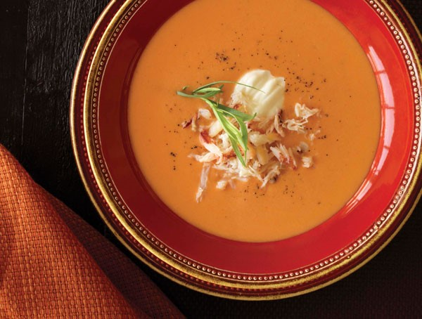 Crab and Cheddar Bisque