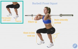 barbell-front-squat-proper-form-bellapetite-for-petite-women
