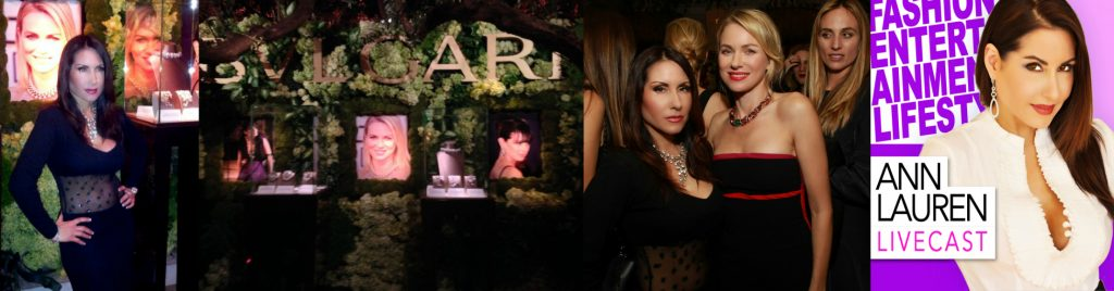 "Bvlgari presents ""Decades of Glamour"" with Naomi Watts"