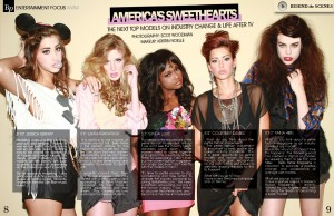 Tyra Banks America's Next Top Models Petite Models Preview Issue