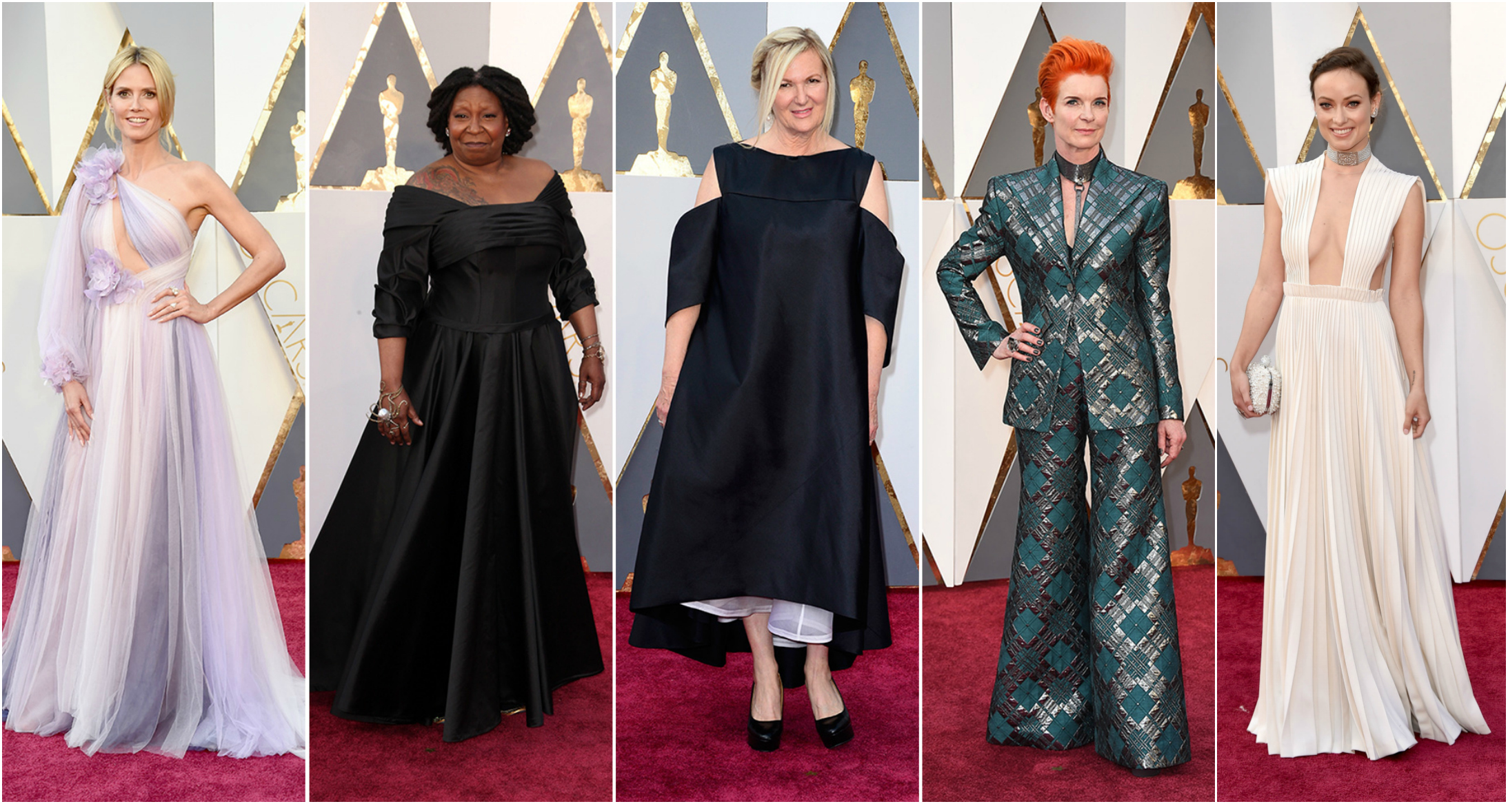 2016 Oscars Worst Dressed Celebrities On The Red Carpet