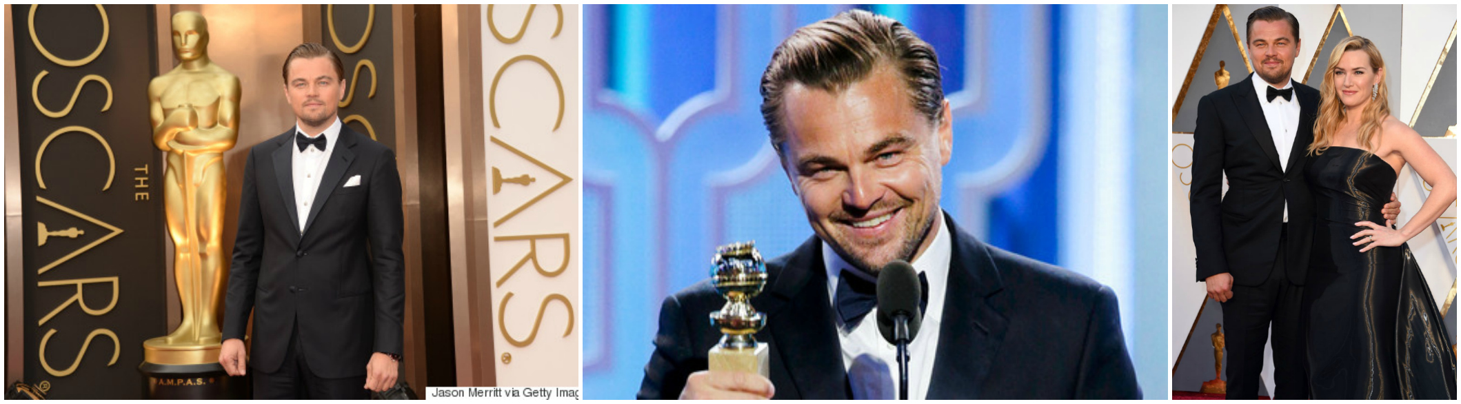 Leonardo DiCaprio Oscar Best Actor The Revenant 2016