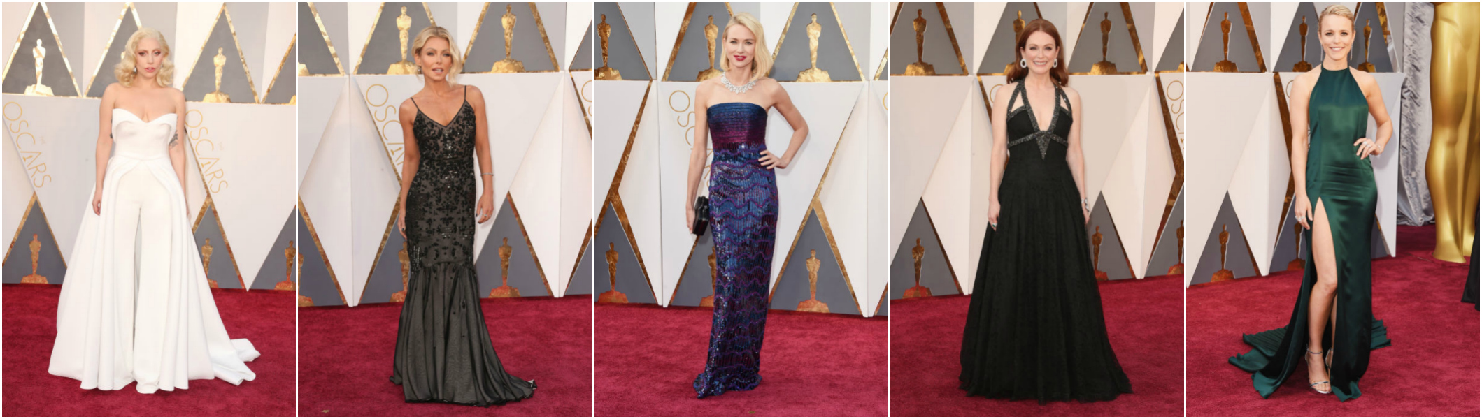 Oscars Red Carpet Celebrities 2016