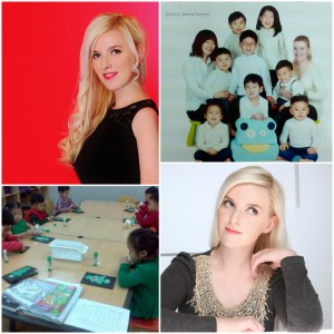Teacher Emina Dedci Korean Students in Seoul