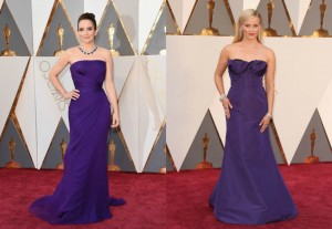 Tina Fey vs. Reese Witherspoon Who Wore it Best 2016 Oscars