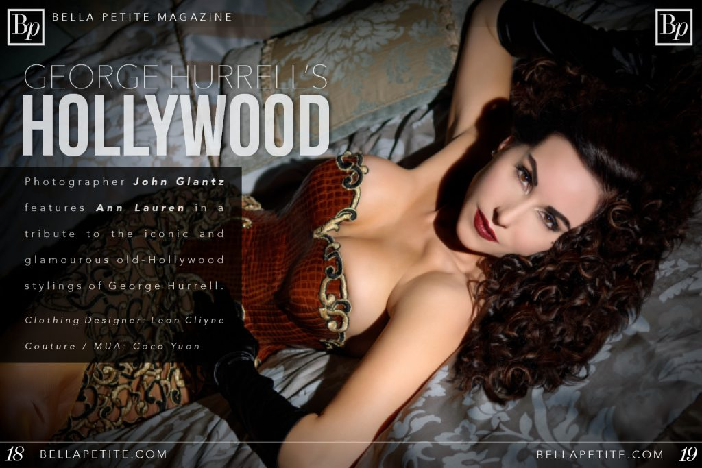 George Hurrell's Hollywood Tribute Featuring Ann Lauren