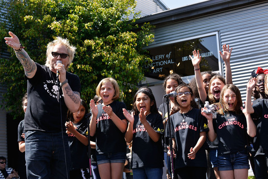 Matt Sorum Adopt The Arts Benefit