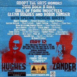 Matt Sorum Adopt The Arts Concert 2016