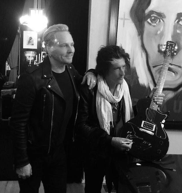 Matt Sorum Joe Perry Adopt The Arts Concert