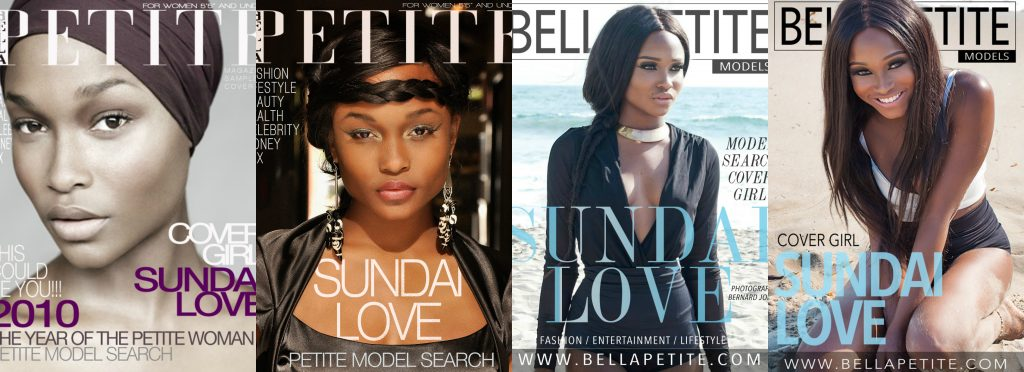 Bella Petite Magazine Cover Girl Sundai Love