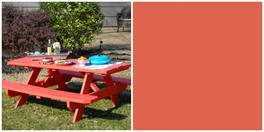 Outdoor Picnic Tables by Vanessa Deleon