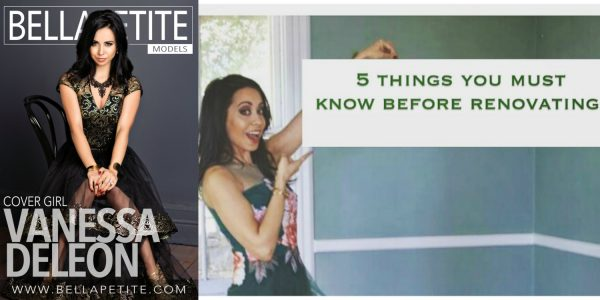 Vanessa Deleon Top Five List of Renovation Tips