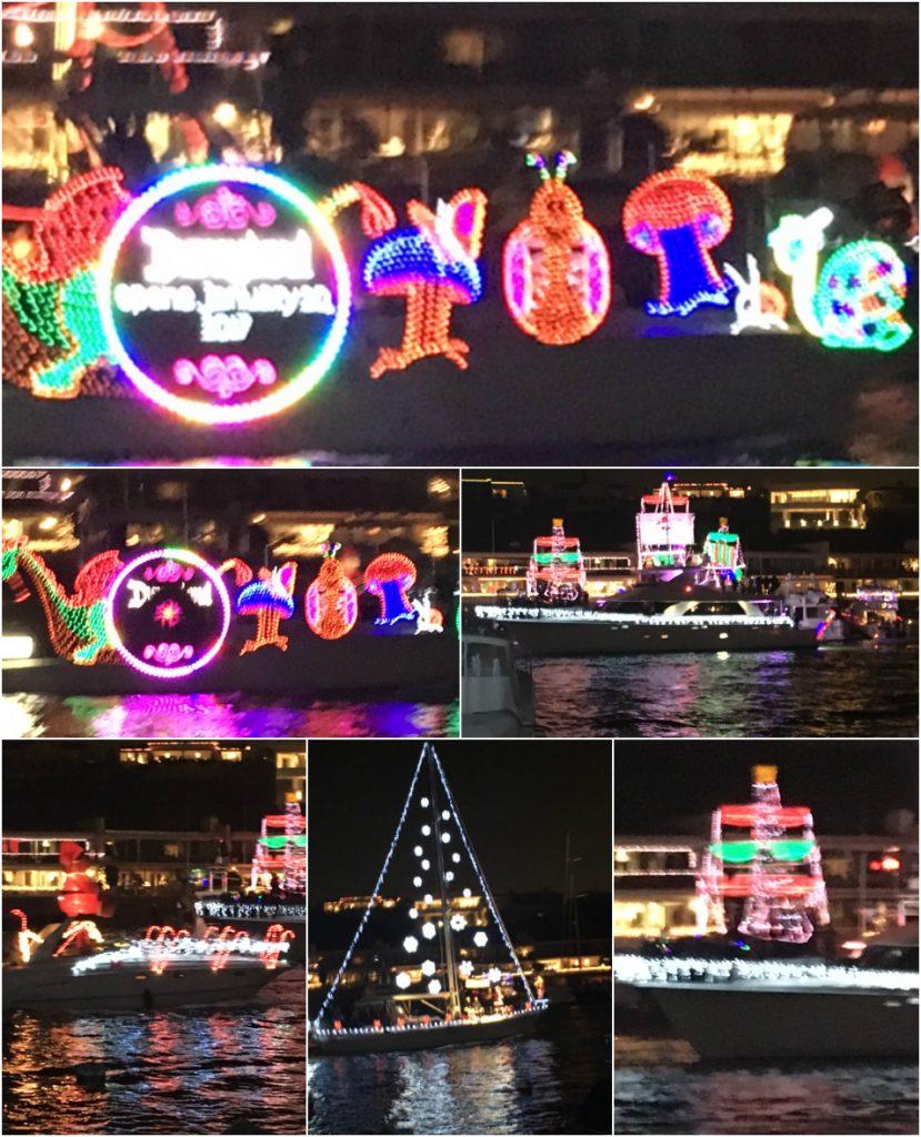 Balboa Island, California Christmas Boat Parade