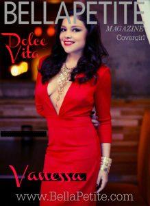 Vanessa Palomino Bella Petite cover girl