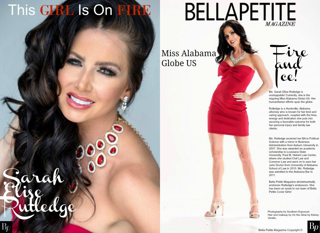 Bella Petite Magzine presents Covergirl Sarah Elise Rutledge