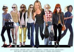 Bella Celebrities and Jeans