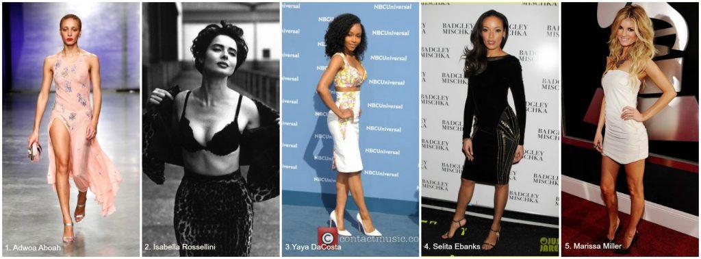 Ann Lauren Short Models Adwoa Aboah, Isabella Rossellini, Yaya DaCosta, Selita Ebanks, Marissa Miller.