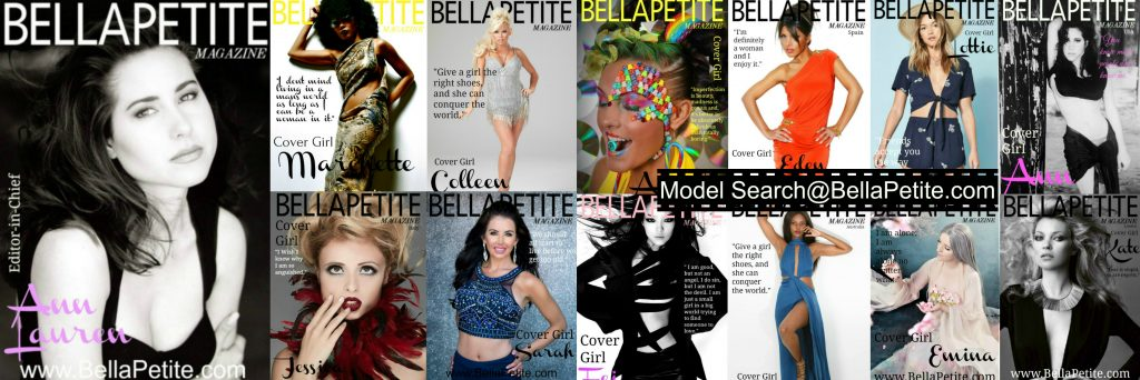 Bella Petite Magazine Ann Lauren Petite Models Cover Girls Modeling Model Search Bellapetite.com