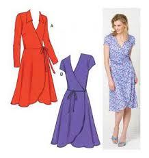 classic wrap dress for petite women