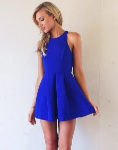 classic fit and flare dress style