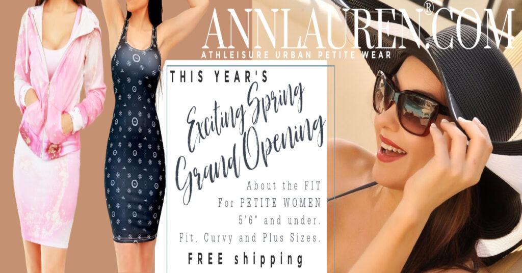 Fashion One Television Ann Lauren® Bella Petite Models Petite Clothing