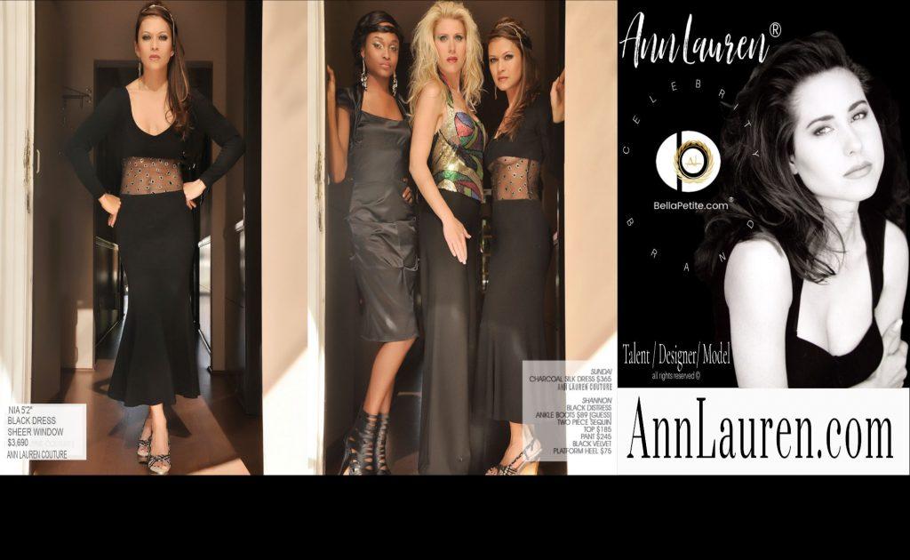 ann lauren dolls clothing model celebrity